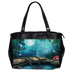 Mysterious Fantasy Nature Office Handbags (2 Sides)  by Brittlevirginclothing