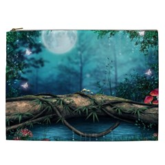 Mysterious Fantasy Nature Cosmetic Bag (xxl)  by Brittlevirginclothing