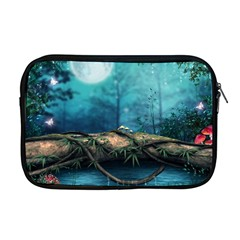 Mysterious Fantasy Nature Apple Macbook Pro 17  Zipper Case by Brittlevirginclothing