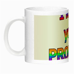 I Love You Proudly 2 Night Luminous Mugs by Valentinaart