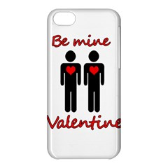Be Mine Valentine Apple Iphone 5c Hardshell Case by Valentinaart