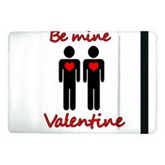 Be Mine Valentine Samsung Galaxy Tab Pro 10 1  Flip Case by Valentinaart