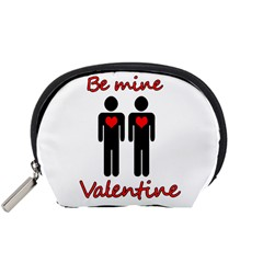 Be Mine Valentine Accessory Pouches (small)  by Valentinaart