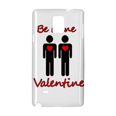 Be Mine Valentine Samsung Galaxy Note 4 Hardshell Case by Valentinaart