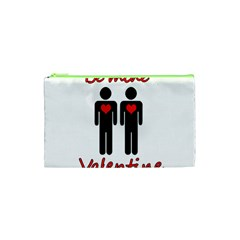 Be Mine Valentine Cosmetic Bag (xs) by Valentinaart