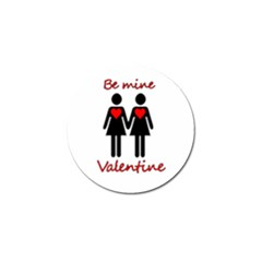 Be My Valentine 2 Golf Ball Marker (4 Pack) by Valentinaart