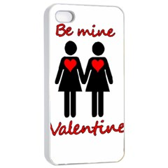 Be My Valentine 2 Apple Iphone 4/4s Seamless Case (white) by Valentinaart