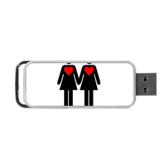 Be My Valentine 2 Portable Usb Flash (two Sides)