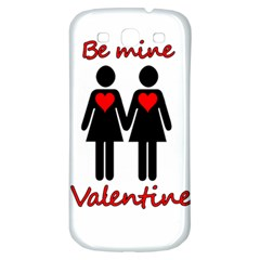 Be My Valentine 2 Samsung Galaxy S3 S Iii Classic Hardshell Back Case by Valentinaart