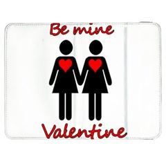 Be My Valentine 2 Samsung Galaxy Tab 7  P1000 Flip Case by Valentinaart