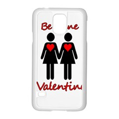 Be My Valentine 2 Samsung Galaxy S5 Case (white) by Valentinaart
