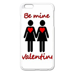 Be My Valentine 2 Apple Iphone 6 Plus/6s Plus Enamel White Case by Valentinaart