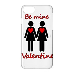 Be My Valentine 2 Apple Iphone 7 Hardshell Case by Valentinaart