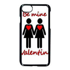 Be My Valentine 2 Apple Iphone 7 Seamless Case (black) by Valentinaart