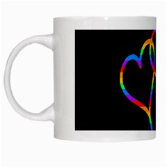 Love Is Love White Mugs by Valentinaart