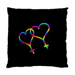 Love Is Love Standard Cushion Case (one Side) by Valentinaart
