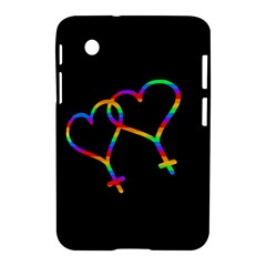 Love Is Love Samsung Galaxy Tab 2 (7 ) P3100 Hardshell Case  by Valentinaart