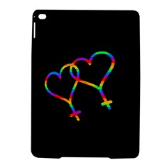 Love Is Love Ipad Air 2 Hardshell Cases by Valentinaart