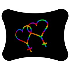 Love Is Love Jigsaw Puzzle Photo Stand (bow) by Valentinaart