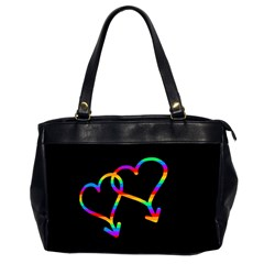 Love Is Love Office Handbags (2 Sides)  by Valentinaart