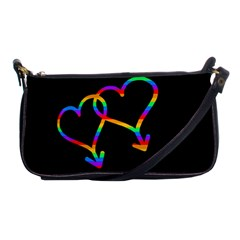 Love Is Love Shoulder Clutch Bags by Valentinaart