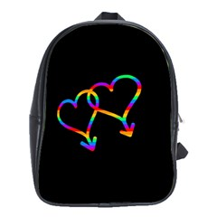 Love Is Love School Bags (xl)  by Valentinaart