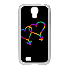 Love Is Love Samsung Galaxy S4 I9500/ I9505 Case (white) by Valentinaart