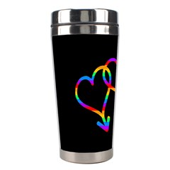 Love Is Love Stainless Steel Travel Tumblers by Valentinaart