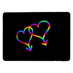 Love Is Love Samsung Galaxy Tab Pro 12 2  Flip Case by Valentinaart