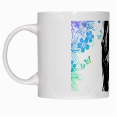 Shy Anime Girl White Mugs by Brittlevirginclothing