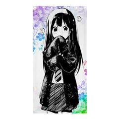 Shy Anime Girl Shower Curtain 36  X 72  (stall)  by Brittlevirginclothing