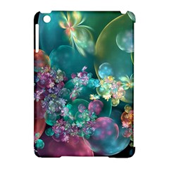 Butterflies, Bubbles, And Flowers Apple Ipad Mini Hardshell Case (compatible With Smart Cover) by WolfepawFractals