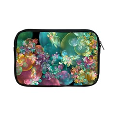 Butterflies, Bubbles, And Flowers Apple Ipad Mini Zipper Cases by WolfepawFractals