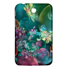 Butterflies, Bubbles, And Flowers Samsung Galaxy Tab 3 (7 ) P3200 Hardshell Case  by WolfepawFractals