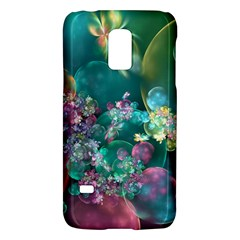 Butterflies, Bubbles, And Flowers Galaxy S5 Mini by WolfepawFractals