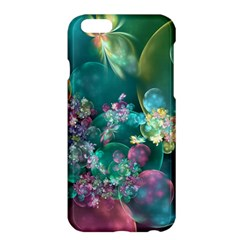 Butterflies, Bubbles, And Flowers Apple Iphone 6 Plus/6s Plus Hardshell Case by WolfepawFractals