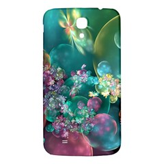 Butterflies, Bubbles, And Flowers Samsung Galaxy Mega I9200 Hardshell Back Case by WolfepawFractals