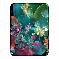 Butterflies, Bubbles, And Flowers Samsung Galaxy Tab 4 (10 1 ) Hardshell Case  by WolfepawFractals