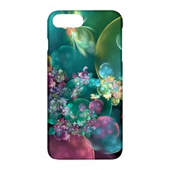 Butterflies, Bubbles, And Flowers Apple Iphone 7 Plus Hardshell Case by WolfepawFractals