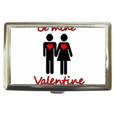 Be Mine Valentine Cigarette Money Cases by Valentinaart