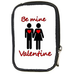 Be Mine Valentine Compact Camera Cases by Valentinaart