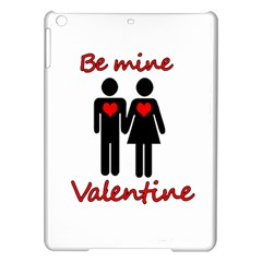 Be Mine Valentine Ipad Air Hardshell Cases by Valentinaart