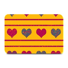 Decorative Harts Pattern Plate Mats by Valentinaart