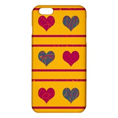 Decorative Harts Pattern Iphone 6 Plus/6s Plus Tpu Case by Valentinaart