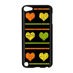 Colorful Harts Pattern Apple Ipod Touch 5 Case (black) by Valentinaart