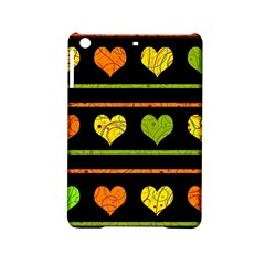 Colorful Harts Pattern Ipad Mini 2 Hardshell Cases by Valentinaart