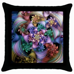 Pong Synth Curl Amorina 02 Whiskey 01 Peggi 05 Pstl Pz Pix Throw Pillow Case (black) by WolfepawFractals