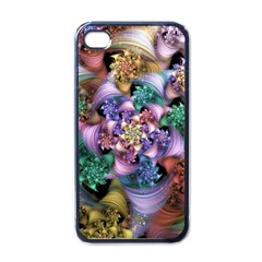 Pong Synth Curl Amorina 02 Whiskey 01 Peggi 05 Pstl Pz Pix Apple Iphone 4 Case (black) by WolfepawFractals