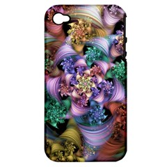Pong Synth Curl Amorina 02 Whiskey 01 Peggi 05 Pstl Pz Pix Apple Iphone 4/4s Hardshell Case (pc+silicone) by WolfepawFractals