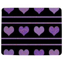 Purple Harts Pattern Jigsaw Puzzle Photo Stand (rectangular) by Valentinaart